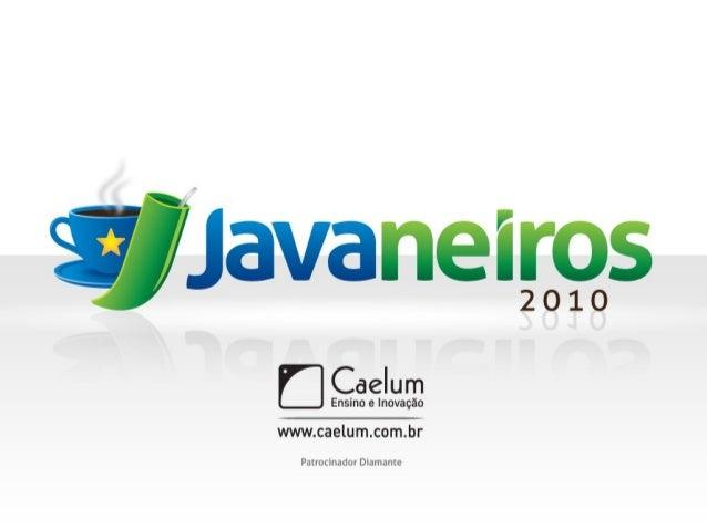 Android: uma nova maneira de programar para dispositivos móveis Robson Soares Silva Blog: www.robsonsoares.com