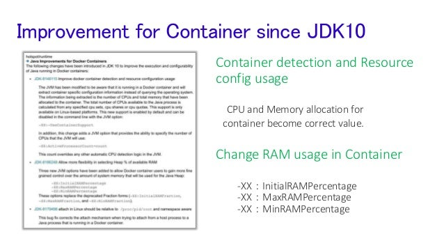 However we should move forward to JDK 11