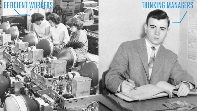 EFFICIENTWORKERS THINKING MANAGERS