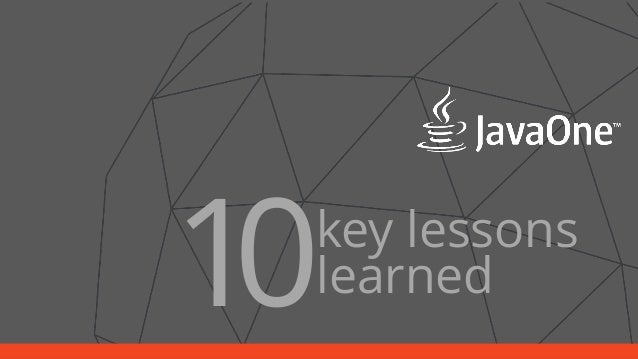 1 key lessons  0learned