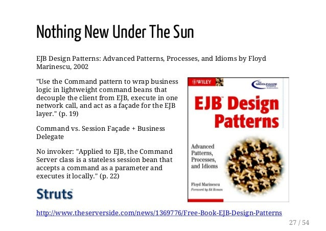 EJB Design Patterns: Advanced Patterns, Processes, and Idioms