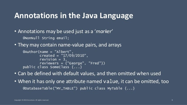 JavaOne 2014 - CON2013 - Code Generation in the Java Compiler: Annota…