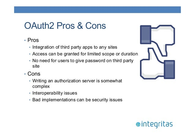 JavaOne 2014 - Securing RESTful Resources with OAuth2