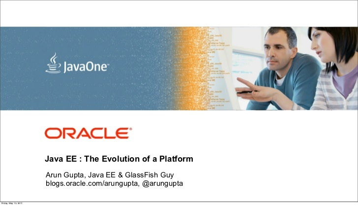 <Insert Picture Here>                       Java EE : The Evolution of a Platform                       Arun Gupta, Java E...