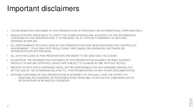 Important disclaimers  THE INFORMATION CONTAINED IN THIS PRESENTATION IS PROVIDED FOR INFORMATIONAL PURPOSES ONLY.  WHIL...