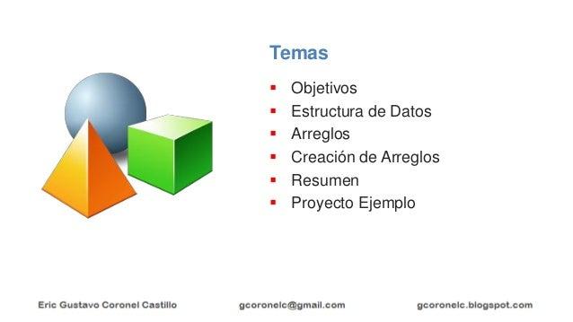 JAVA ORIENTADO A OBJETOS - ARREGLOS Slide 2