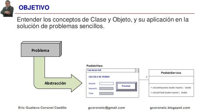 JAVA OO - TEMA 01 - CLASES Y OBJETOS Slide 3