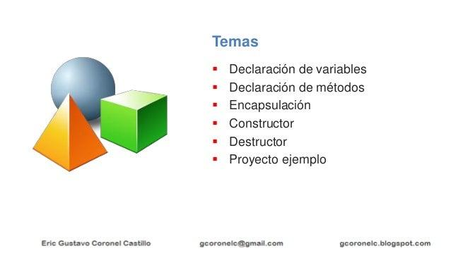 JAVA OO - TEMA 02 - MIEMBROS DE CLASE Slide 2