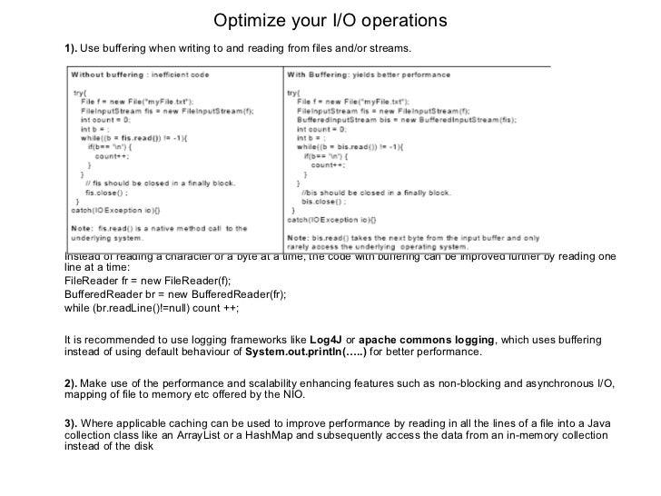 Java programing considering performance for Thread pool design pattern java