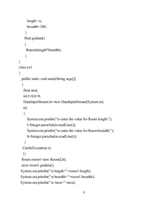 java programming lab manual rh slideshare net java programming lab manual anna university java programming lab manual pdf jntu