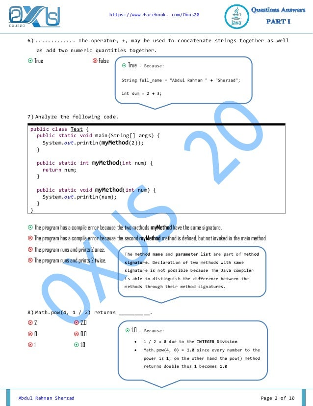 Java Interview Questions and Answers for Senior Core Developers