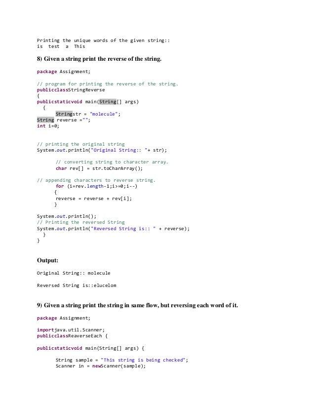 Java programs - bubble sort, iterator, linked list, hash set