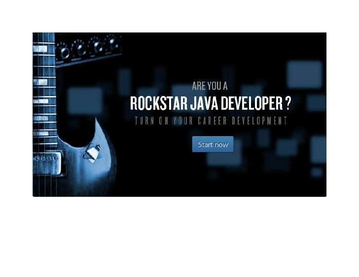 Java Recruitment Ad