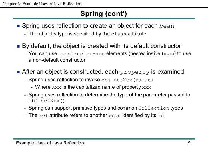 Reflection Property Annotation Attribute Property Value
