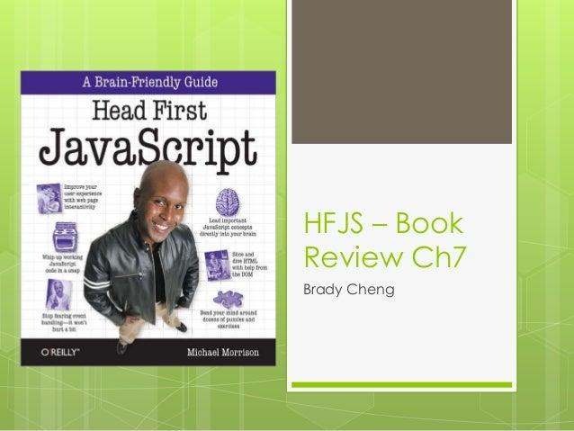 HFJS – BookReview Ch7Brady Cheng