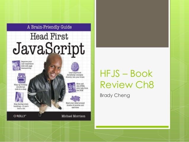 HFJS – BookReview Ch8Brady Cheng