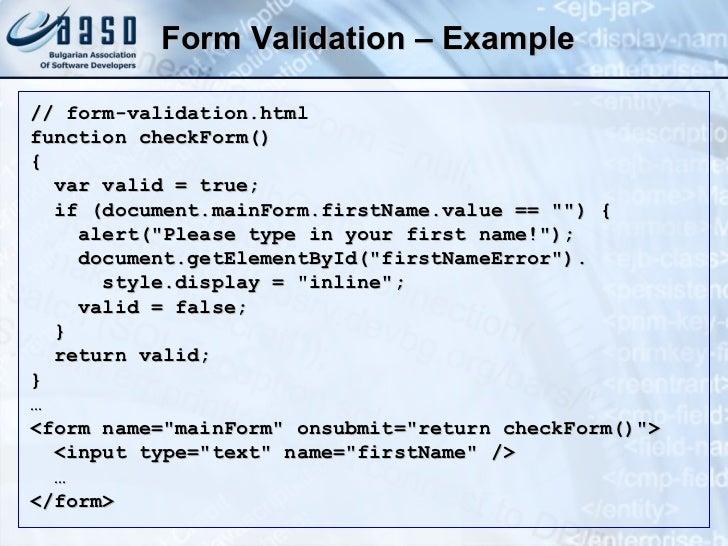 JavaScript and jQuery Fundamentals