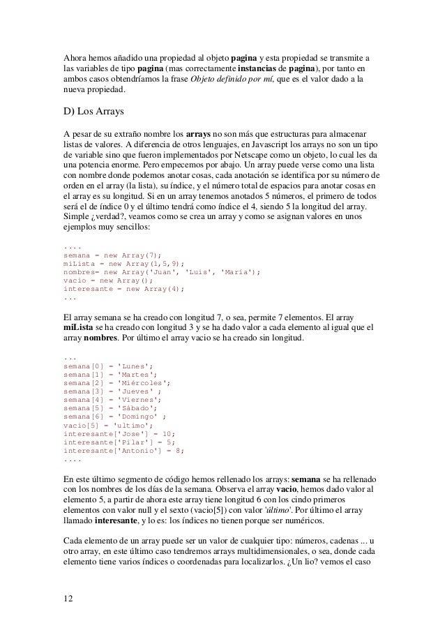 12Ahora hemos añadido una propiedad al objeto pagina y esta propiedad se transmite alas variables de tipo pagina (mas corr...