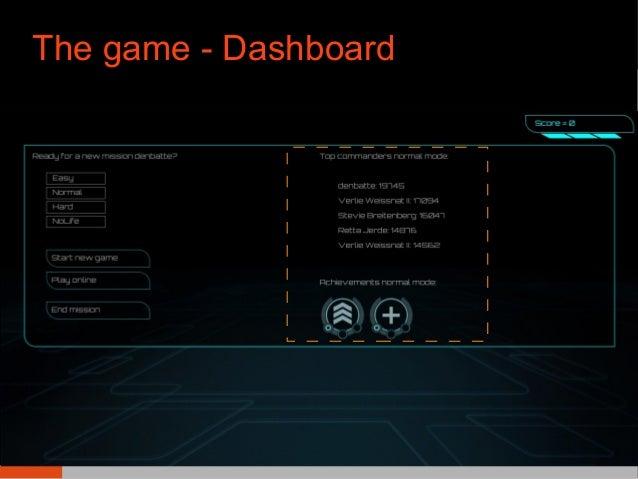 The game - Dashboard