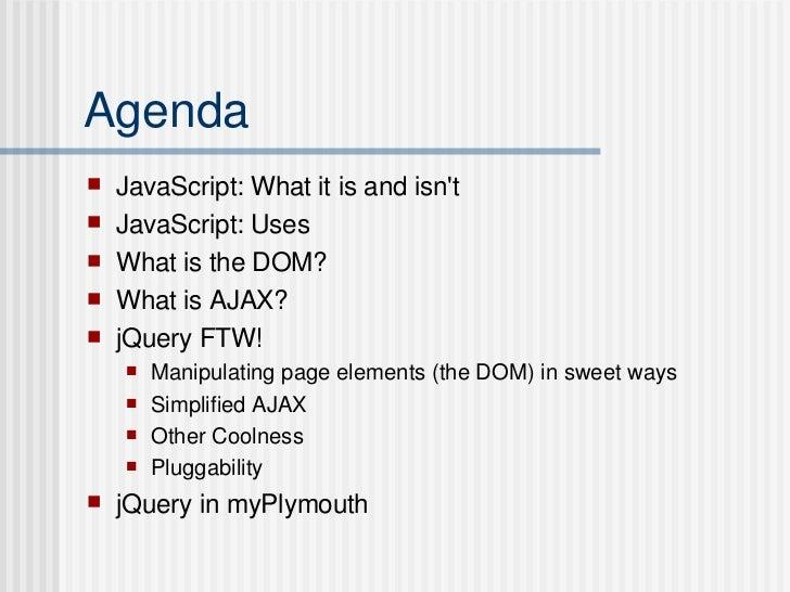 JavaScript: Ajax & DOM Manipulation Slide 2