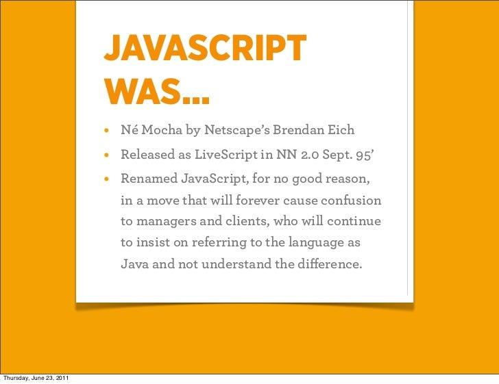 Javascript FTW Slide 2