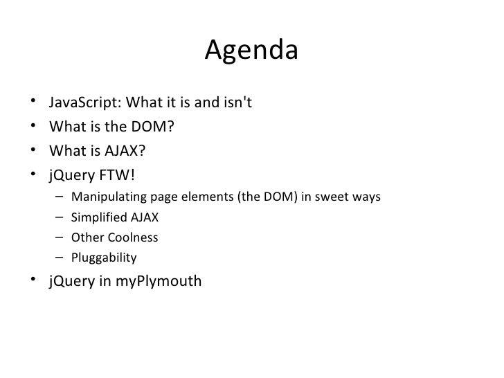 Javascript 2009 Slide 2