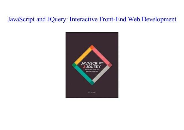 Jon Duckett Javascript Pdf
