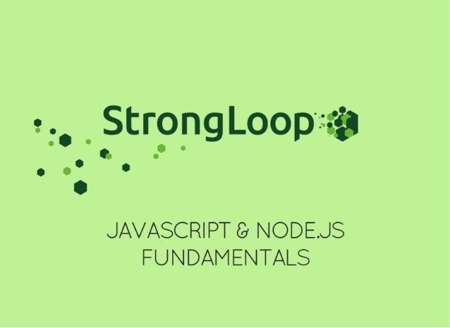 JavaScript and Node js Fundamentals