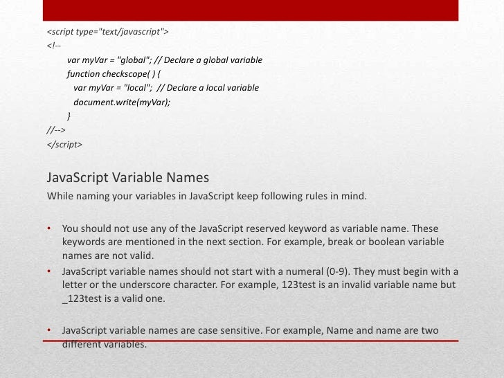 using global variables essay In addition to the reasons for not using global given in the answers below, consider also code reusability if, for instance, you have a utility file of functions, then in any script that includes that file you have to make sure that your variable naming matches the global variables in those functions.