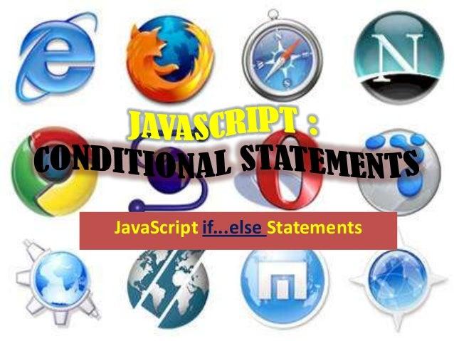 Javascript Conditional Statements 1