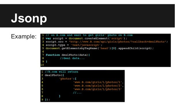 Javascript Cross Domain Communication