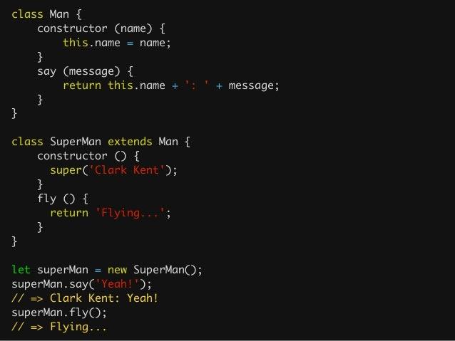 Default arguments var g = function (a, b) { a = a || 1; b = b || 1; return a + b; } ! var f = function (a = 1, b = 1)...