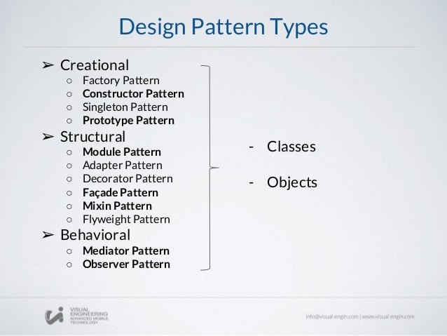 Workshop 60 JavaScript Design Patterns Interesting Javascript Design Patterns