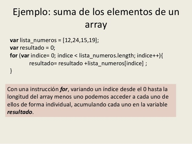 Java Script Estructuras Datos