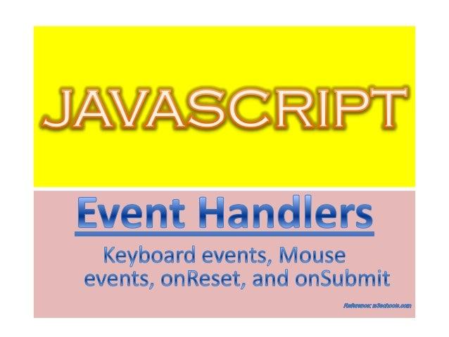 JavaScript Document Object :       ondblclick (Event handler)DescriptionThe ondblclick event handler of a document  object...