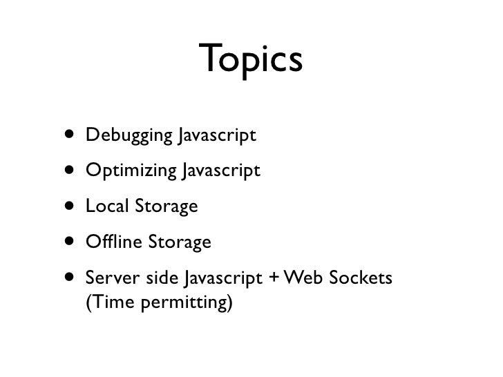 Javascript Everywhere Slide 2