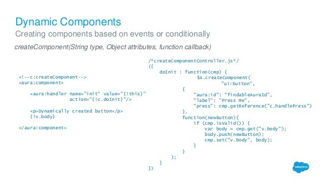 Javascript for Lightning Components: How-To and How-Not-To
