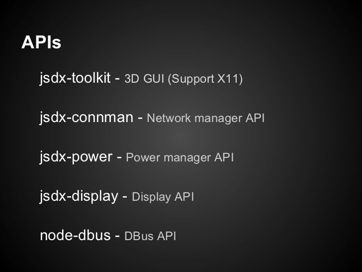 其中有一個 API