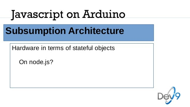 Javascript on arduino
