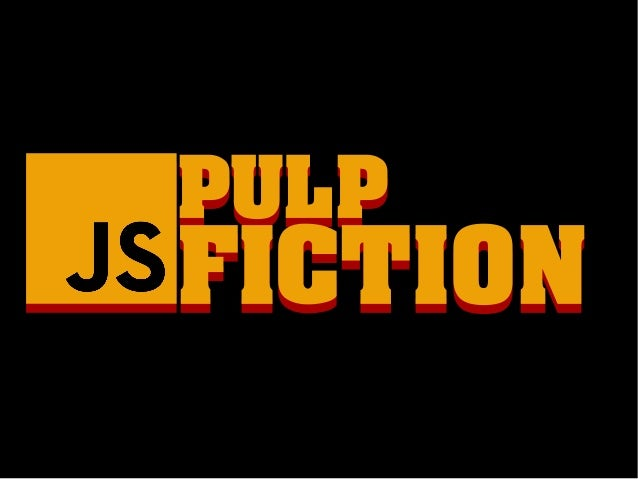 PULPPULP FICTIONFICTION