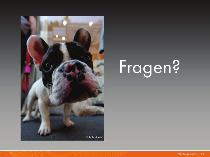 Fragen?© br1dotcom                    Mayflower GmbH I 54