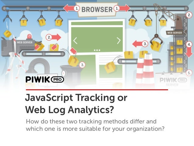 JavaScript Tracking or Web Log Analytics? How do these two tracking methods differ and which one is more suitable for your ...