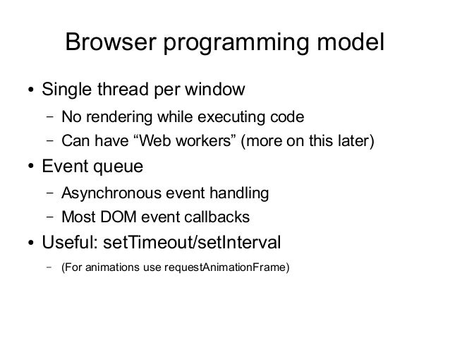 Javascript Update May 2013