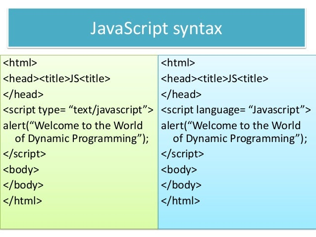 javascript write Steps on how to write a javascript in your web page or in an external javascript file.