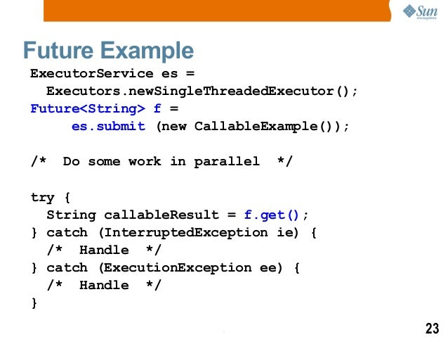 Java Concurrency Memory Model And Trends