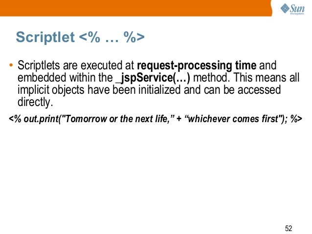 SCWCD : Java server pages CHAP : 9