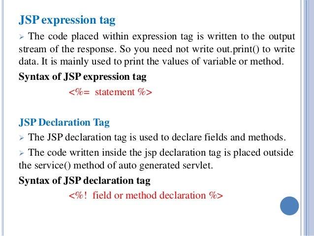 How to write java class inside jsp