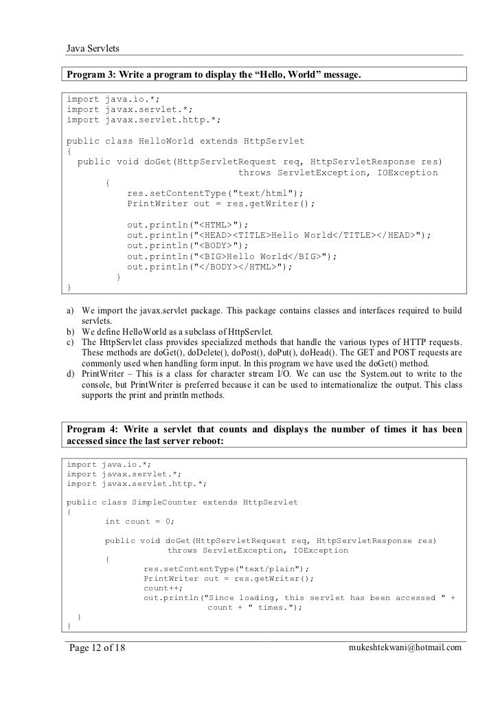 how to write a computer program in java