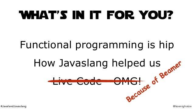 Javaslang Talk @ Javaland 2017 Slide 3