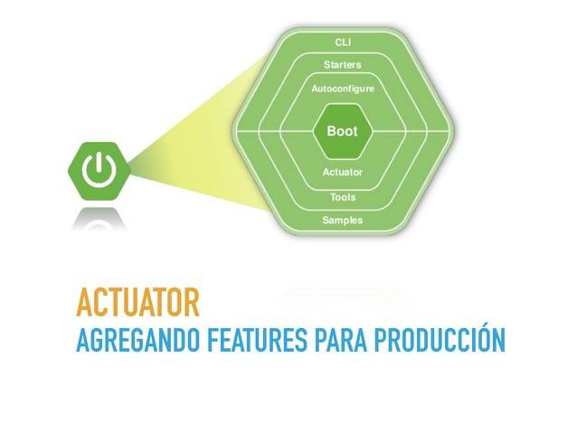 AGREGANDO ACTUATOR • Añade a nuestros proyectos una serie de endPoints para consultar y monitorear la aplicación. maven gr...